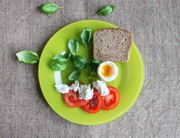 Krožnik zdrava prehrana