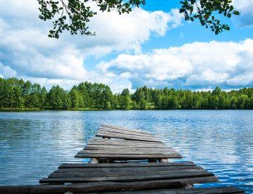 jezero in most